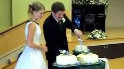 Wedding Cake. Cut. Feed. Throw. Kiss & Make Up