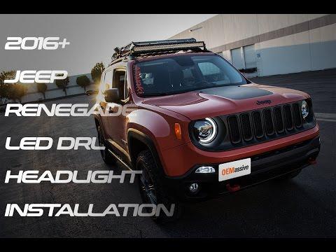 Oemassive 2016 Jeep Renegade Led Drl Headlight