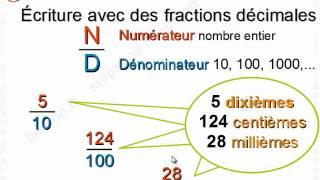 Cours gratuit de maths 6ème Nombres entiers et décimaux par un professeur L