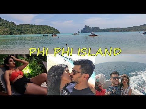 THAILAND Vlog – PHUKET Vlog Day 3 – PHI PHI ISLAND TOUR in Big Boat & MAYA BAY