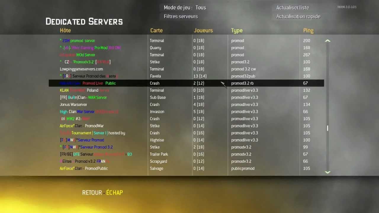 mw2 server