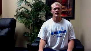 College athlete is able to continue playing because of Prolozone injections from Dr. Jon Harmon