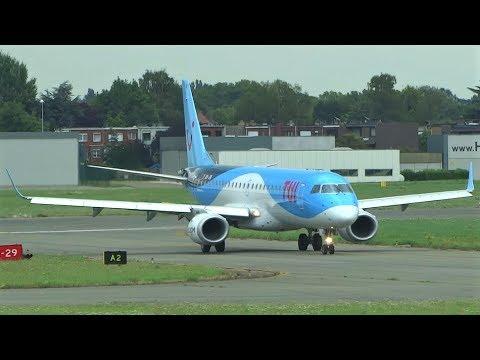 Plane Spotting at Antwerp Airport | vliegtuigspotten op de luchthaven van Antwerpen | part 1