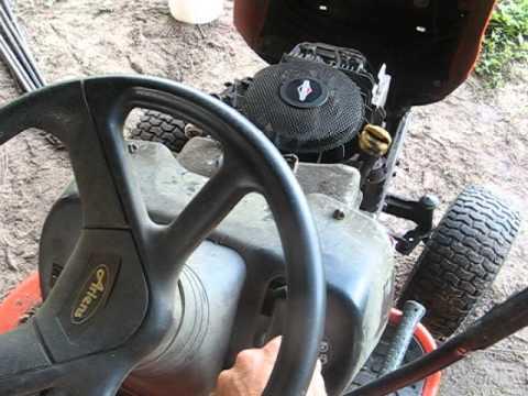 Ariens Lawn Tractor Won T Start
