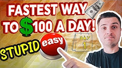 $100 A DAY ECOMMERCE STRATEGY! YOU CAN DO IT TODAY!