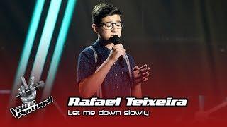 Download lagu Rafael Teixeira – Let me down slowly | Prova Cega | The Voice Portugal