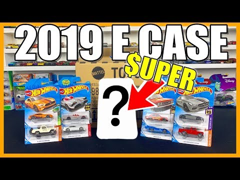 2019 Hot Wheels E Case ***Super Treasure Hunt Find***