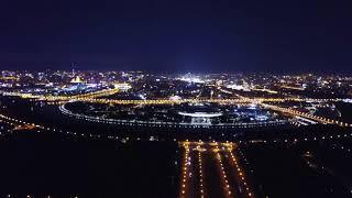 Ночной отрыв на DJI Mavic в Москве;)
