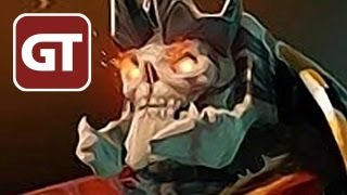 Dota 2 Gameplay - Skeleton King - Let
