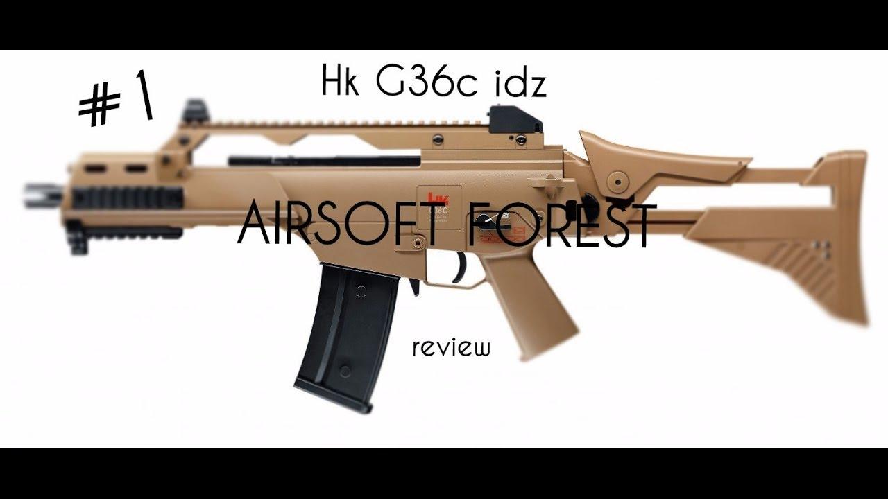 HECKLER /& KOCH G36 C IDZ Advanced Pink Airsoft Gewehr 500-745 mm