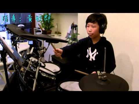 U-Drum 御將音樂打擊系統-台中爵士鼓教學-王俊皓 Yellow[drum Cover]