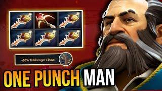 ONE PUNCH MAN - Kunkka 5x Divine Rapier By SingSing 7.10 Dota 2   Upside Down 67