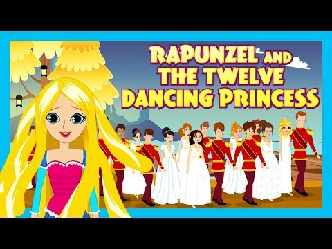 RAPUNZEL AND THE TWELVE DANCING PRINCESS - KIDS HUT STORYTELLING || BEDTIME AND FAIRY TALES FOR KIDS