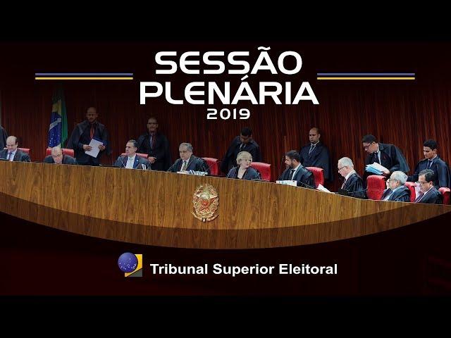 Sessão Plenária do dia 30 de maio de 2019