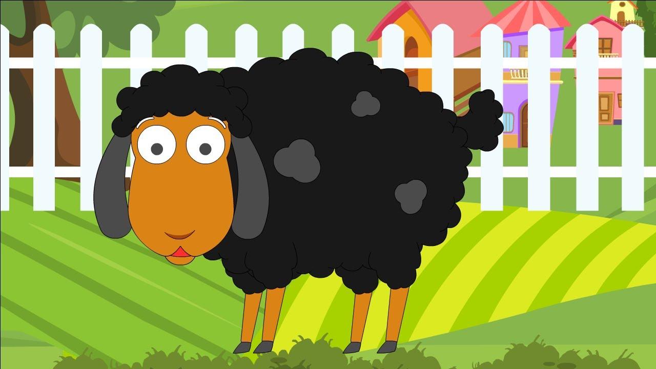 Nursery Rhyme Street Baa Baa Black Sheep Popular Nursery Rhymes And Kids Songs Ep 24 Youtube