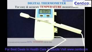 Digital Thermometer   For easy   accurate temperature measurement