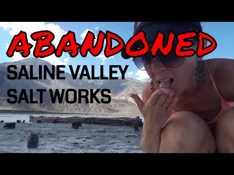 Abandoned Saline Valley Salt Works