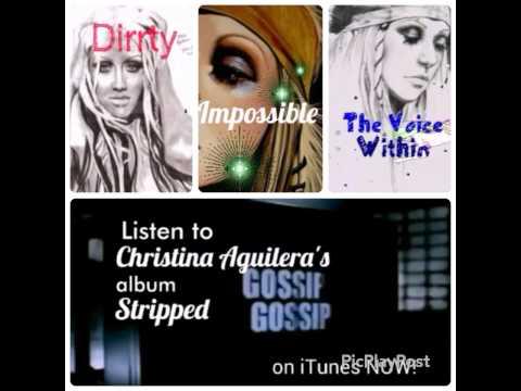 STRIPPED Album Promo Christina Aguilera