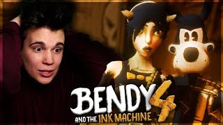 RATUJEMY BORYSA!  - Bendy and the Ink Machine [CHAPTER 4]