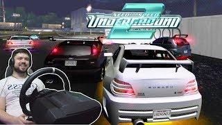 Соперники читеры Победить вообще реально Need For Speed Underground 2