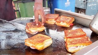 Roasted Sandwich | Sandwich | Grilled Sandwich | Bapu Bazar -Jaipur | Indian Street Food |Pink City