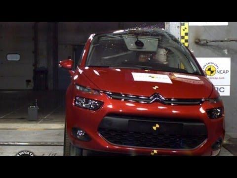2014 Citroën C4 Picasso CRASH TEST