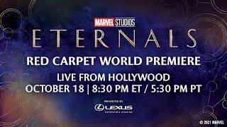 Marvel Studios' Eternals   Ręd Carpet LIVE!