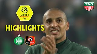 AS Saint-Etienne - Stade Rennais FC ( 1-1 ) - Highlights - (ASSE - SRFC) / 2018-19