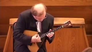 Andrey Gorbachev Андрей Горбачев Balalaïka Concert 2005 Cathédrale  Rkoutsk