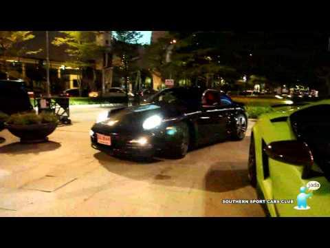 Southern sport cars club in bangkok