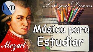 Música Clásica Relajante para Estudiar y Concentrarse y Memorizar | Mozart para Estudiar, Trabajar