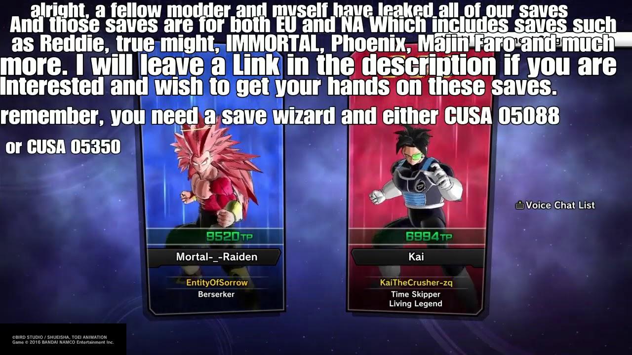 PS4 SaveGame Files | Free Game Save Files Downloads