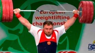2010 European Weightlifting Championships, Men +105 kg \ Тяжелая Атлетика. Чемпионат Европы
