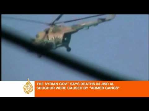 Al Jazeera talks to a resident in Jisr al Shughur
