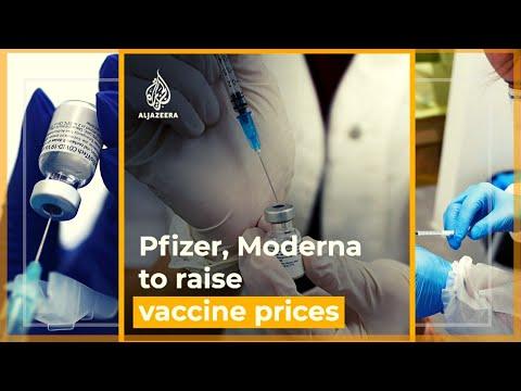 Pfizer, Moderna to raise COVID vaccine prices for Europe   Al Jazeera Newsfeed