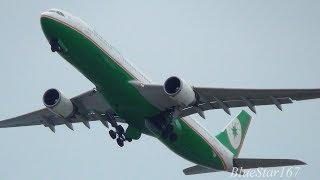 Download lagu EVA Airways Airbus A330-300 (B-16336) takeoff from KIX/RJBB (Kansai - Kansai) RWY 06R