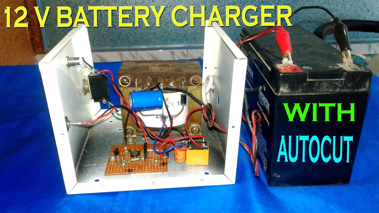 12v 4amp battery charger with auto cut off [ 1280 x 720 Pixel ]