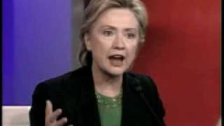 Hillary Clinton Attacks John Edwards Over Change