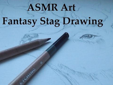 ASMR ART -Painting A Stag