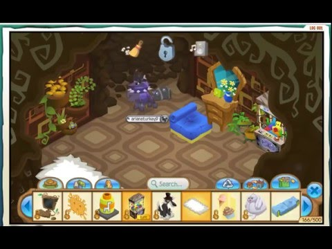 Full download animal jam enchanted hollow den decorating for Animal decoration games
