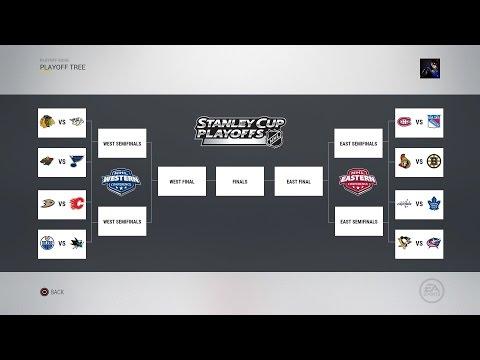 2017 NHL Playoff Sim Part 2 - NHL 17