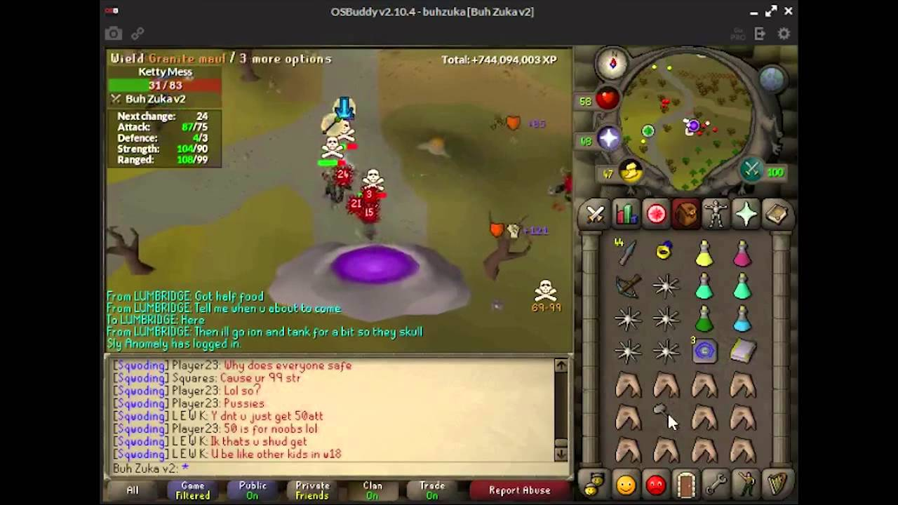 Osrs P2p Pk 75 Atk pure Chapter 1