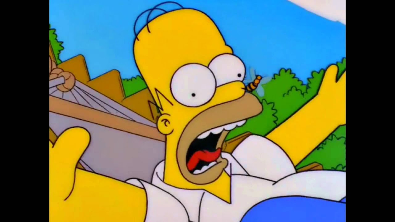 Simpsons not the bees youtube sciox Choice Image