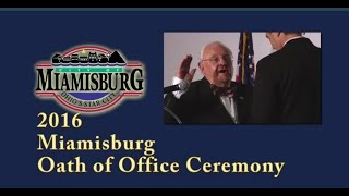 2016 Miamisburg Oath of Office