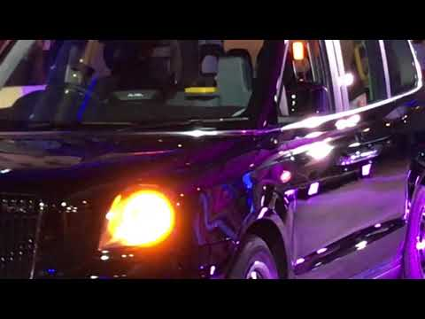 BBC One Show First Electric Hybrid London Taxi