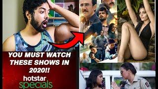 BEST SERIES TO WATCH ON HOTSTAR 2020 | BEST SHOWS ON HOTSTAR @DisneyPlus Hotstar VIP #withme