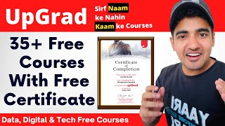 Upgrad Launches 35+ Free Courses With Certificate (Courses Worth Lakhs Now FREE) Tricky Man screenshot 1
