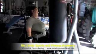 wheelchair fitness boxing and personal training in signal hill ca