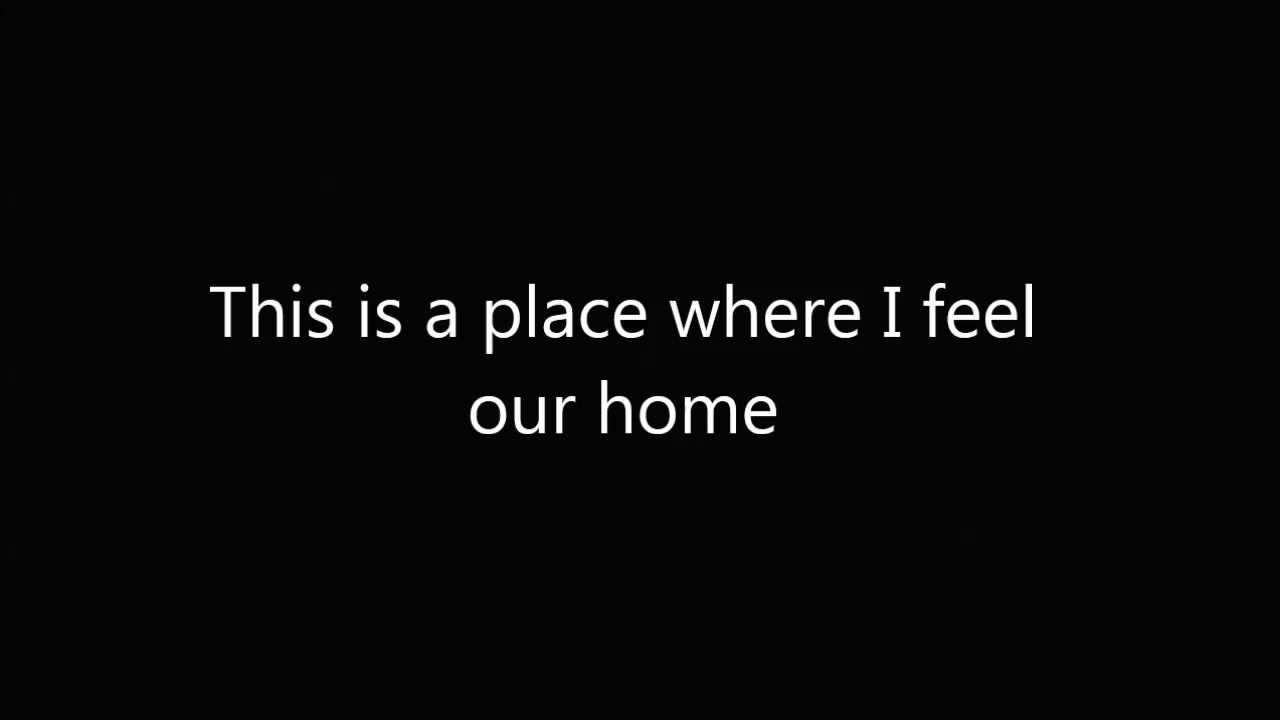 The Cinematic Orchestra To Build A Home Karoake With Lyrics Youtube