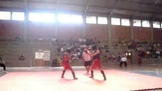 Fabricio x Felipe Campeonato de kung fu em Bagé